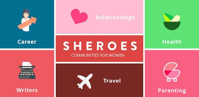 Sheroes Social Platorm